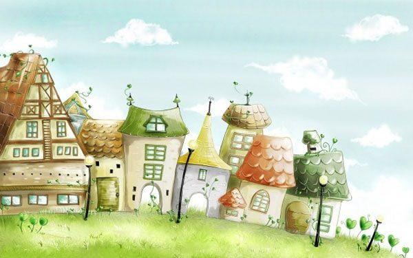 Картинка к сказке Правдивая история о садовнике