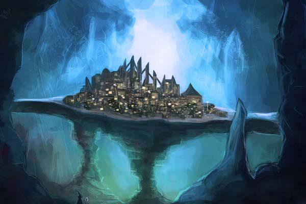 Картинка к сказке Семь подземных королей
