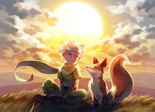 Картинка к сказке Маленький принц