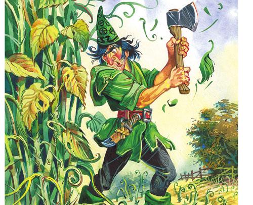Картинка к сказке Урфин Джюс и его деревянные солдаты