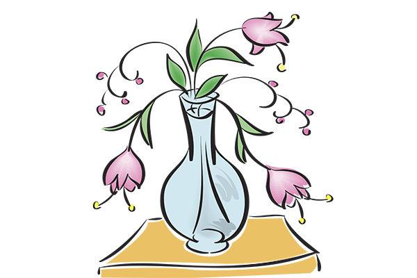 Картинка к сказке Жила-была ваза