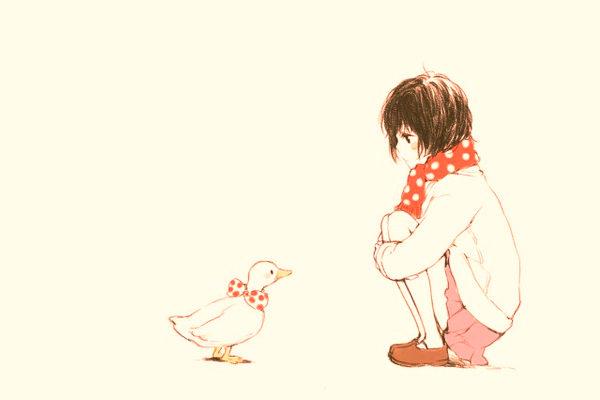 Картинка к сказке Анюткина утка
