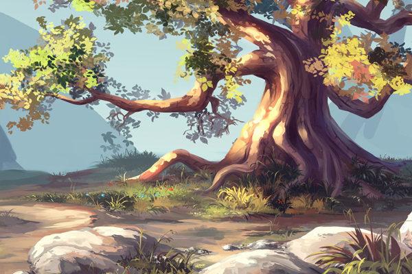 Картинка к сказке Цеп с неба