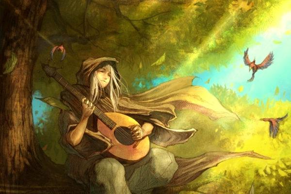 Картинка к сказке Чудаковатый музыкант
