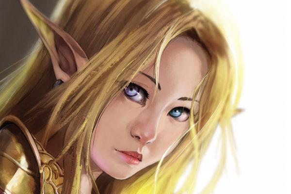 Картинка к сказке Эльфа и носовой платочек