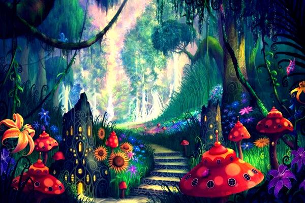 Картинка к сказке Гном Скрипалёнок