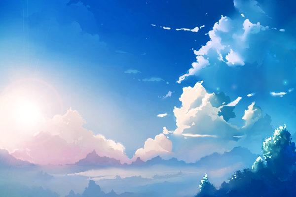 Картинка к сказке Голубая сказка