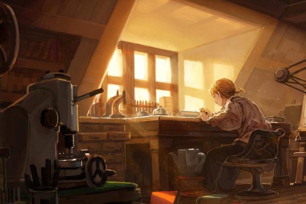 Картинка к сказке Храбрый портняжка