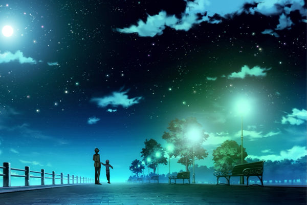 Картинка к сказке Майской ночью