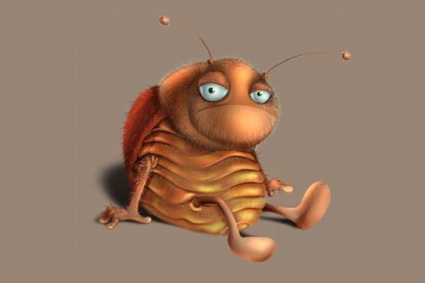 Картинка к сказке Навозный жук