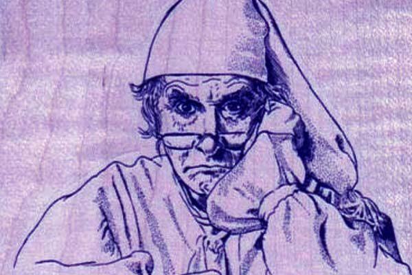 Картинка к сказке Ночной колпак старого холостяка