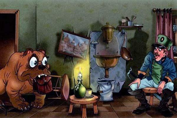 Картинка к сказке Огниво