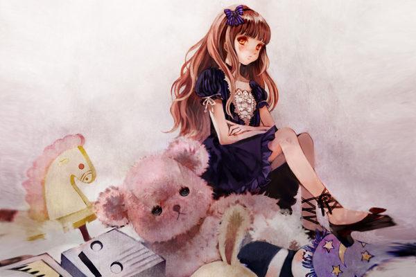 Картинка к сказке Принцесса, не желавшая играть в куклы