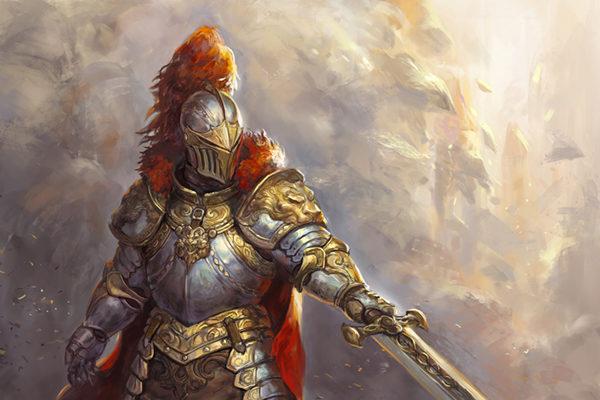 Картинка к сказке Рыцарь Нильс из Дубовой рощи