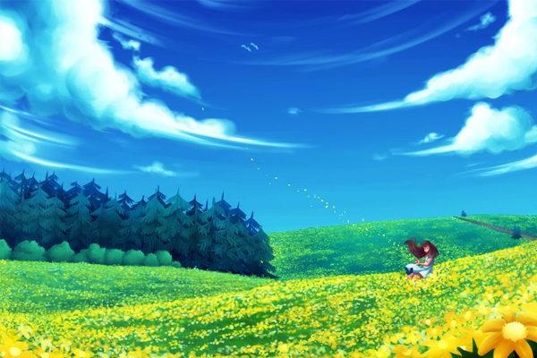 Картинка к сказке Солнечная полянка