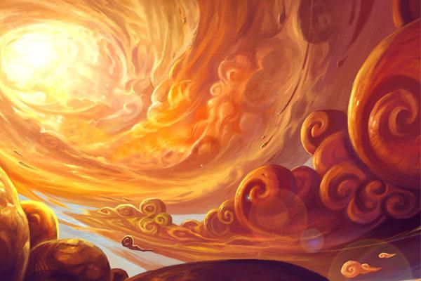 Картинка к сказке Солнце ясное всю правду откроет