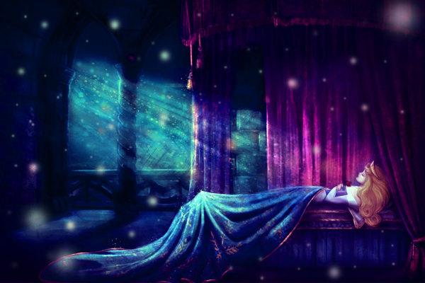 Картинка к сказке Спящая красавица