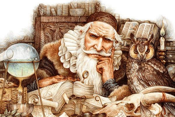 Картинка к сказке Старик из стеклянной горы