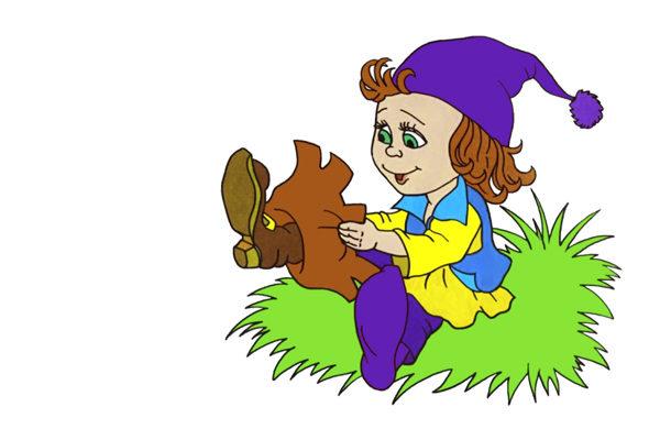 Картинка к сказке Странствия Мальчика-с-пальчик