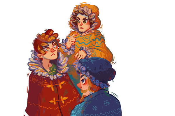 Картинка к сказке Три брата