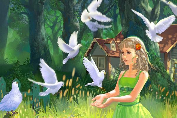 Картинка к сказке Три маленьких лесовика