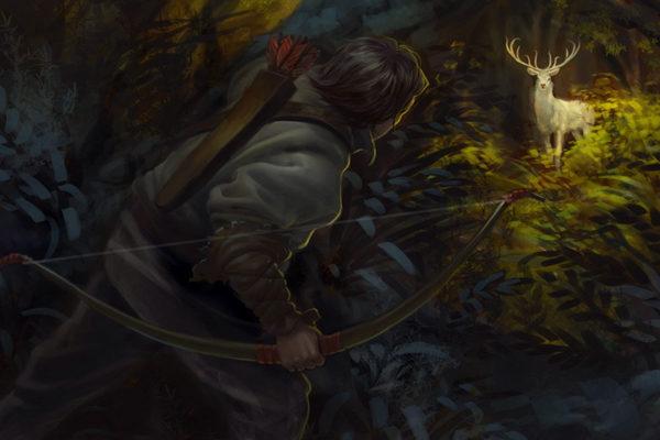 Картинка к сказке Учёный охотник