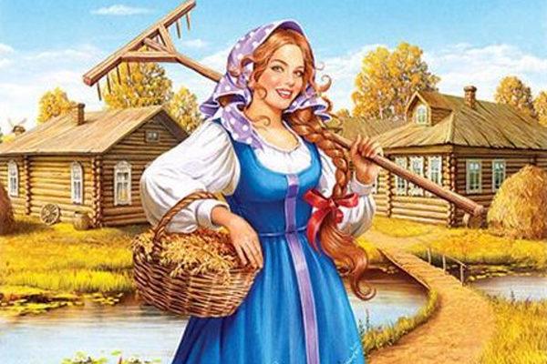 Картинка к сказке Умная дочь крестьянская