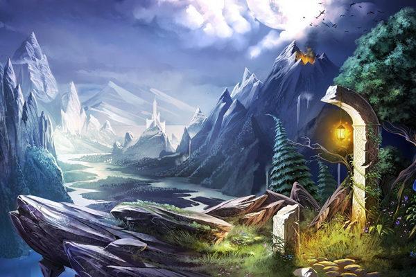 Картинка к сказке В стране между Светом и Тьмой