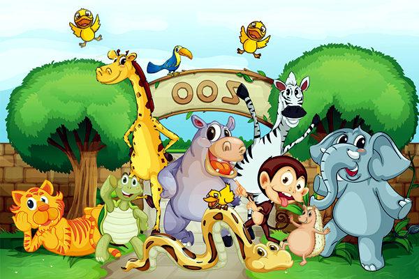 Картинка к сказке Зоопарк