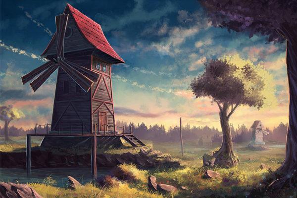 Картинка к сказке Четвёртый блиндаж
