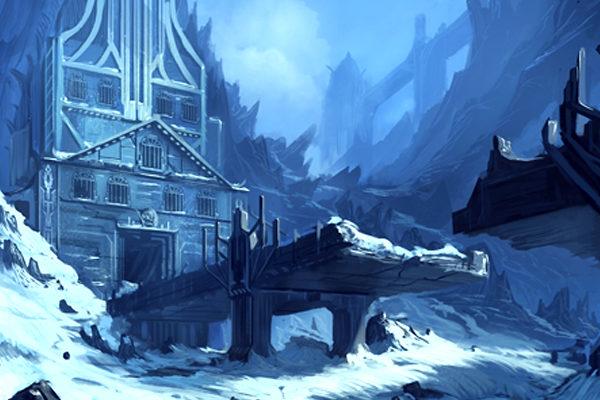 Картинка к сказке Комендант снежной крепости