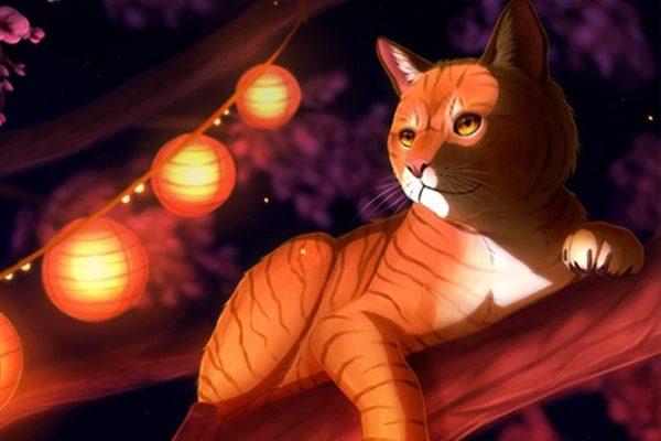Картинка к сказке Лис и кошка
