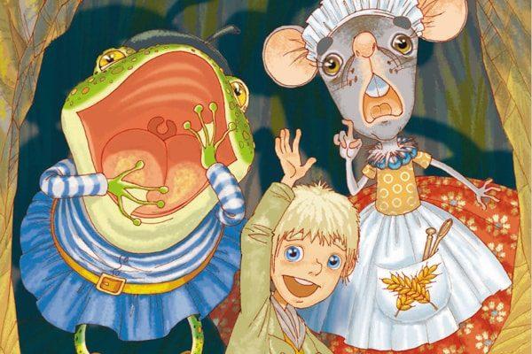 Картинка к сказке Мальчик с пальчик