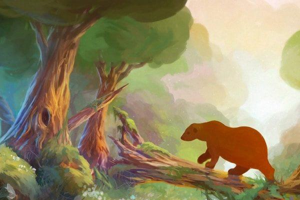 Картинка к сказке Медвежатник
