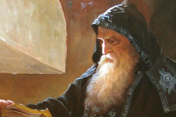 Картинка к сказке Монах в терновнике