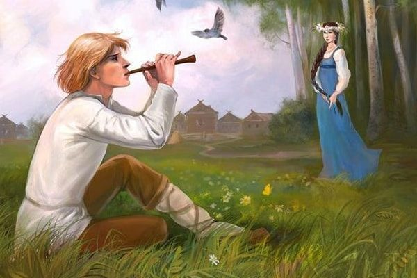 Картинка к сказке Пастушок