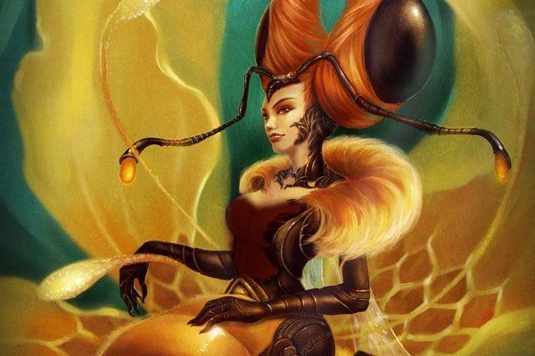 Картинка к сказке Пчелиная матка