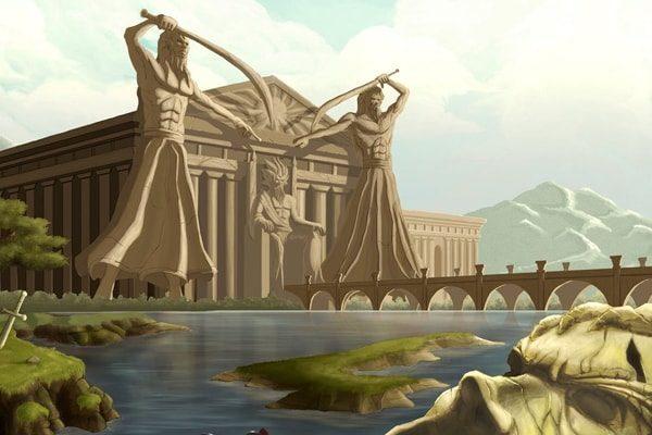 Картинка к сказке Побратимы