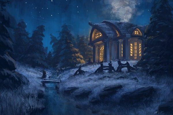 Картинка к сказке Предки птичницы Греты