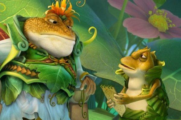 Картинка к сказке Принц-лягушка