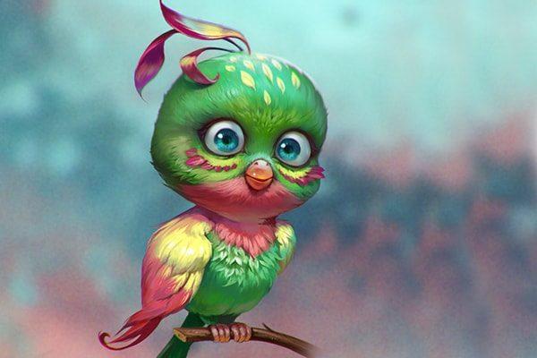 Картинка к сказке Птица-Найдёныш