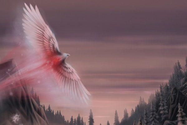 Картинка к сказке Птица народной песни