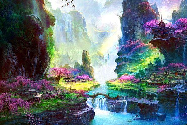Картинка к сказке Райский сад