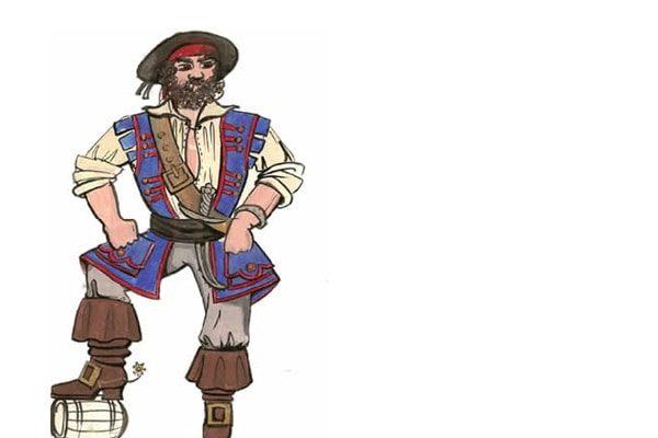 Картинка к сказке Ранец, шапочка и рожок