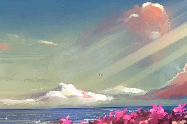 Картинка к сказке Рассказы солнечного луча