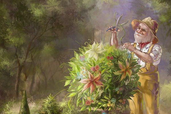 Картинка к сказке Садовник и господа