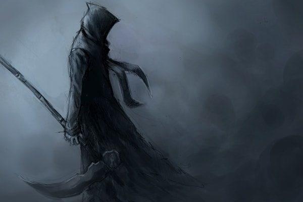 Картинка к сказке Смерть в кумовьях