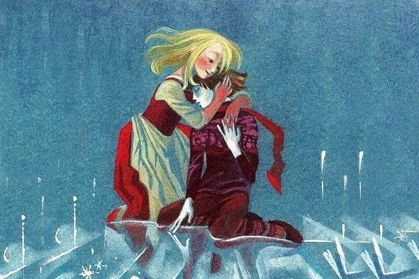 Картинка к сказке Снежная королева