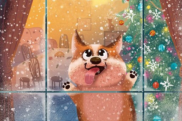 Картинка к сказке Собака и воробей