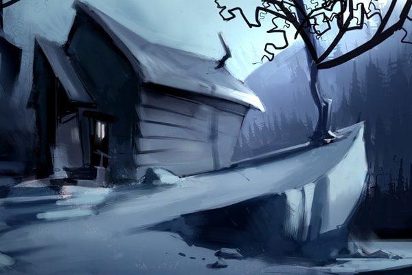 Картинка к сказке Старый дом